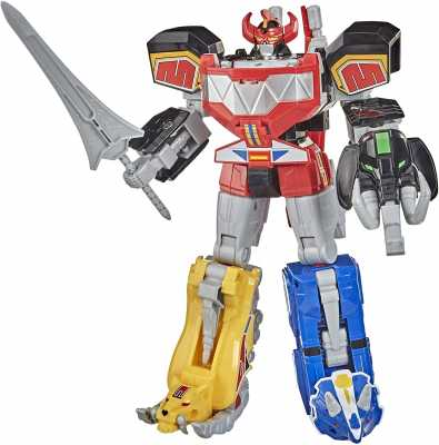 Power Rangers Mighty Morphin Megazord Megapack Includes 5 MMPR Dinozord Action Figure