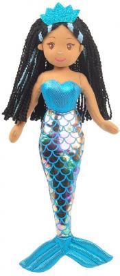 Linzy Toys,Aria Mermaid Doll, Soft Plush Mermaid, Blue, 18inch Mermaid Toys for Little Girls