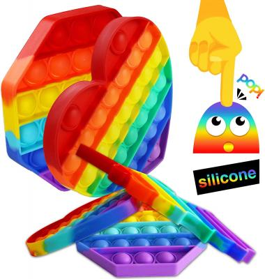 Fidget Bubble Toys, Poppers Fidget Toy Push pop Bubble Sensory Fidget Toys for Autism