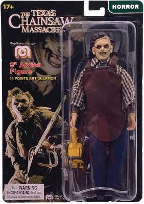 Mego The Texas Chainsaw Massacre 8inch Leatherface Action Figure Limited Edition