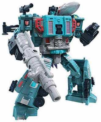 Transformers Toys Generations War for Cybertron: Earthrise Leader WFC-E23 Doubledealer Triple Changer Action Figure