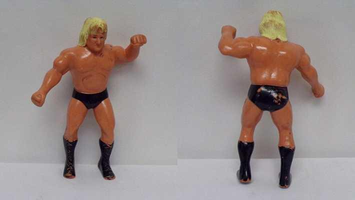 Greg The Hammer Valentine ORIGINAL Vintage 1986 LJN WWF Wrestling Figure C