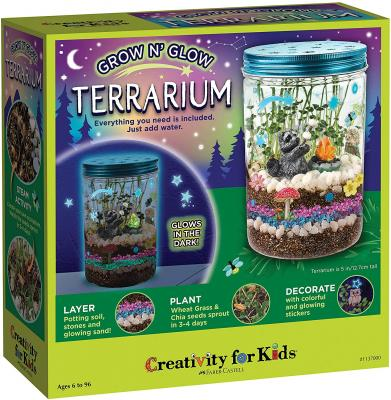 Creativity for Kids Grow N Glow Terrarium Kit for Kids - Science Activities for Kids