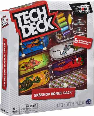TECH DECK - Sk8shop Bonus Pack