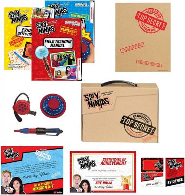 Spy Ninjas New Recruit Mission Kit from Vy Qwaint and Chad Wild Clay