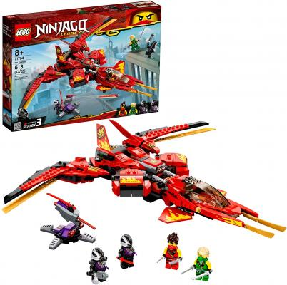 LEGO NINJAGO Legacy Kai Fighter 71704 Building Set for Kids Featuring Ninja Action Figures (513 Pieces)