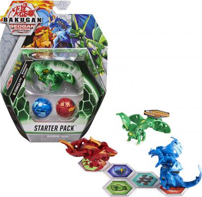 Bakugan Starter Pack 3-Pack, Fenneca Ultra, Geogan Rising Collectible Action Figures