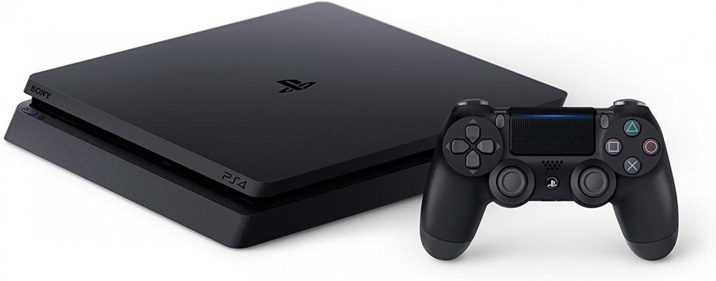 SONY PlayStation 4 Slim 1TB Console, Light & Slim PS4 System, 1TB Hard Drive