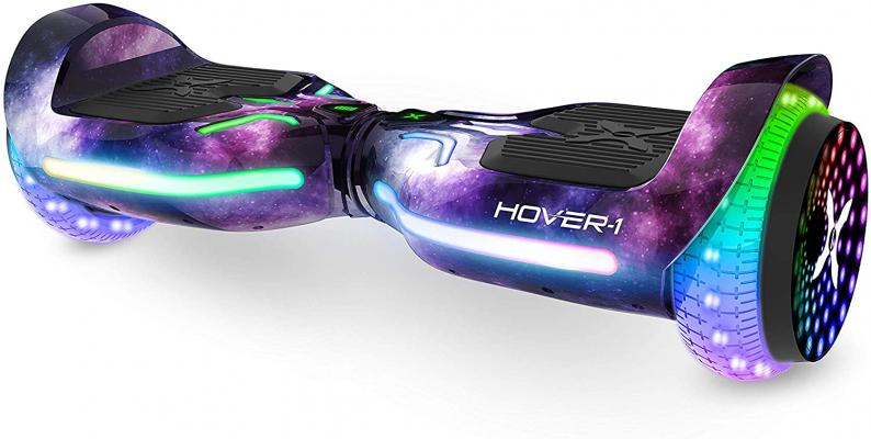 Hover-1 H1-100 Electric Hoverboard Scooter with Infinity LED Wheel Lights