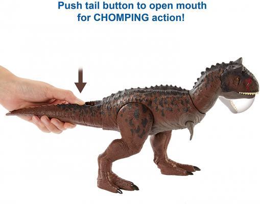 Jurassic WorldCampCretaceousIsla Nublar Control N Conquer Carnotaurus Toro Large Dinosaur Figure