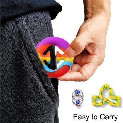 Offeara Wacky Track Fidget Toy