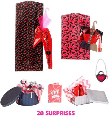 LOL Surprise OMG Spicy Babe Fashion Doll - Dress Up Doll Set with 20 Surprises for Girls