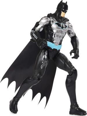 DC Comics Batman 12-inch Bat-Tech Action Figure (Black/Blue Suit), Kids Toys for Boys Aged 3 and up
