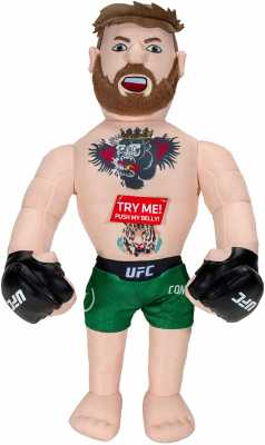 UFC Champion Conor McGregor Plush Toy with Sound Effects