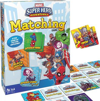 Wonder Forge Marvel Matching Game for Boys and Girls Age 3 to 5