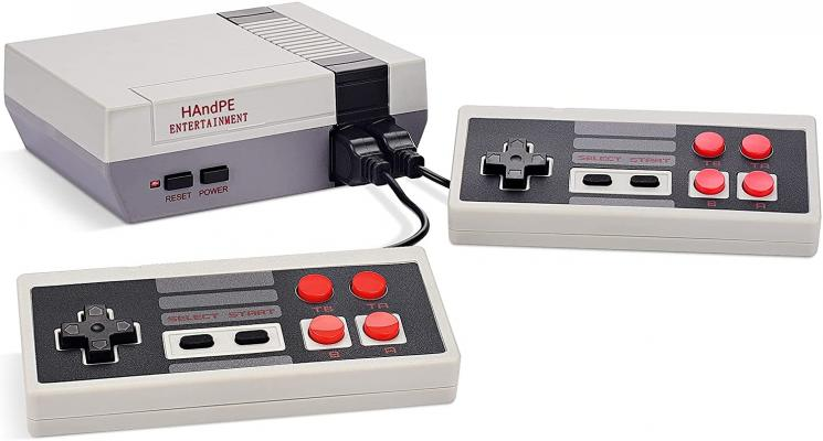 HAndPE Retro Classic Mini Game Console Childhood Game Consoles Built-in 620 Game