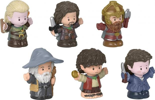 Fisher-Price Little People Collector Lord of The Rings Figure Set 6