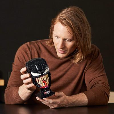 LEGO Marvel Spider-Man Venom 76187 Collectible Building Kit for-Adults Venom-Mask