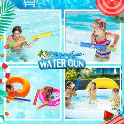 Lucky Doug 6 PCS Foam Squirt Guns Water Blaster Set