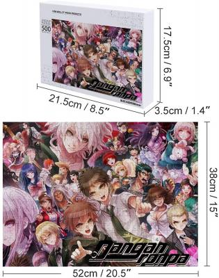 Anime Danganronpa Jigsaw Puzzles Intellectual Game for Adults and Kids,Learning and Education Toys