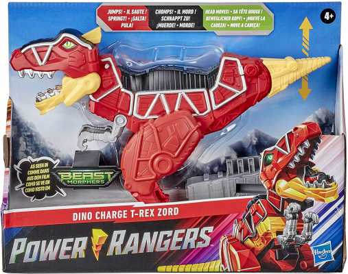 Power Rangers Dino Charge T-Rex Zord Toy Inspired by Special Beast Morphers Episode Red Action Figure
