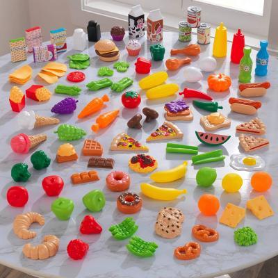 KidKraft KidKraft 115-Piece Deluxe Tasty Treats Pretend Play Food Set
