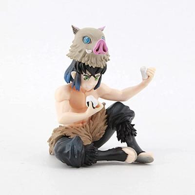 BULI Demon Slayer Inosuke Figure Kimetsu no Yaiba Hashibira Inosuke Figurine Collection