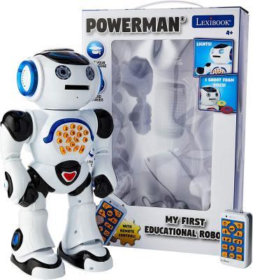 LEXiBOOK ROB50EN_09 Powerman Remote Control Walking Talking Toy Robot