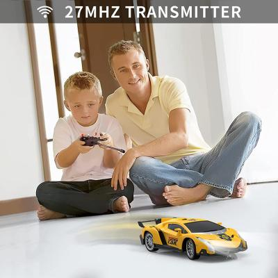 Growsland Remote Control Car, RC Cars Xmas Gifts for Kids 1/18 Electric Sport Racing Hobby Toy Car