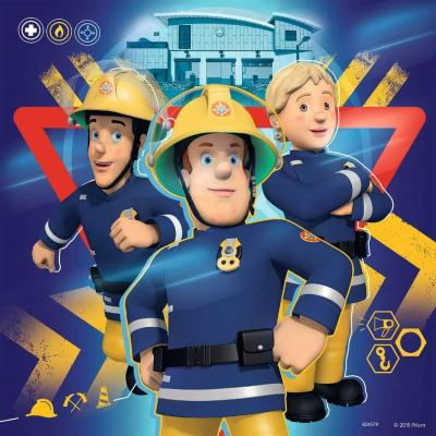 Ravensburger Fireman Sam Jigsaw Puzzle (3 x 49 Piece)