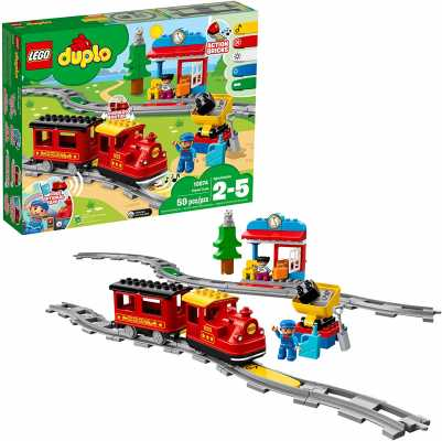 LEGO DUPLO Steam Train 10874 Remote-Control Building Blocks