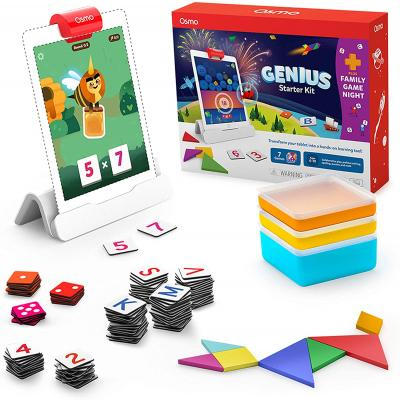 Osmo - Genius Starter Kit for iPad + Family Game Night - 7 Educational Learning Games