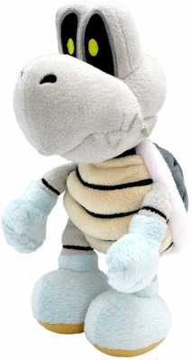 Little Buddy Super Mario All Star Collection 1598 Dry Bones Stuffed Plush, 8inch