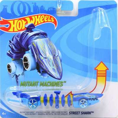 Mutant Machines Street Shark - Compatible with Hot Wheels