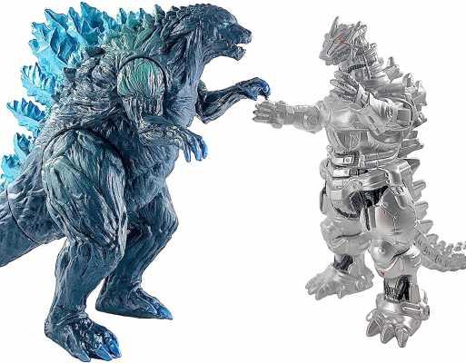 TwCare Set of 2 Godzilla Earth MechaGodzilla Figures King of The Monsters