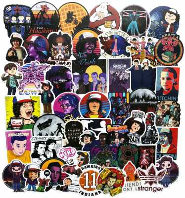50PCS S-tranger-Things Movie Stickers
