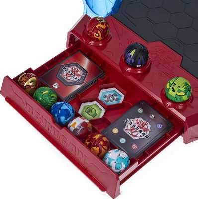 Bakugan Battle League Coliseum, Deluxe Game Board with Exclusive Fused Howlkor x Serpenteze