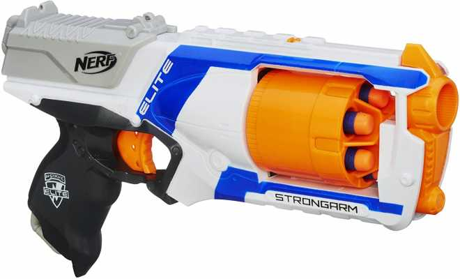Nerf N Strike Elite Strongarm Toy Blaster With Rotating Barrel