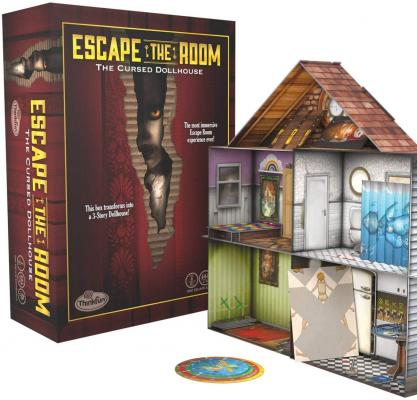 Think Fun Escape The Room The Cursed Dollhouse - an Escape Room Experience in a Box