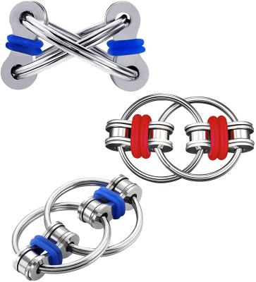 SCIONE Fidget Toys for Adults 2 Pack,Bike Chain