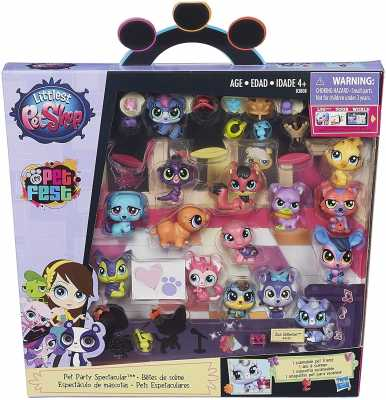 Littlest Pet Shop Pet Party Spectacular Collector Pack Toy, Includes 15 Pets, Ages 4 and Up