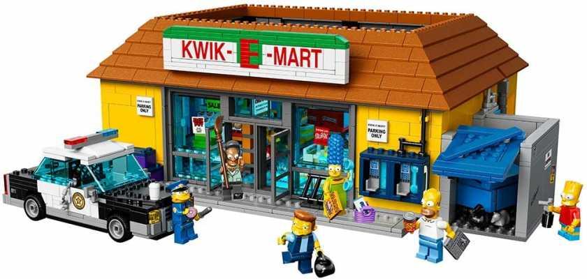 LEGO Simpsons 71016 the Kwik-E-Mart Building Kit