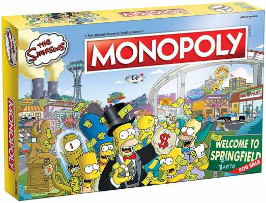 Monopoly The Simpsons Board Game