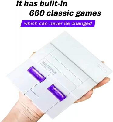Retro Game Console,Classic Mini NES Console with Built-in 660 Video Games and 2 NES Classic Controllers