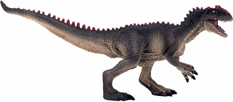Allosaurus with Articulated Jaw Realistic Dinosaur