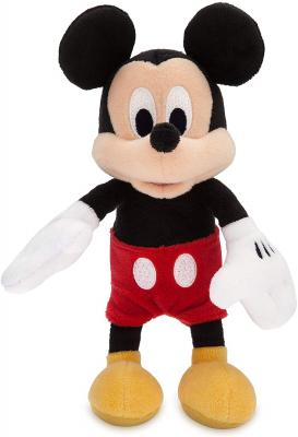 Disney Mickey Mouse Plush - Mini Bean Bag - 9 Inches