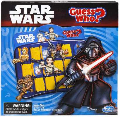 GUESS WHO Disney Star Wars Memory Matching Game by Hasbro