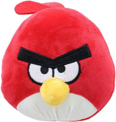Angry Birds 7 Inch Plush Character Head - Red Bird