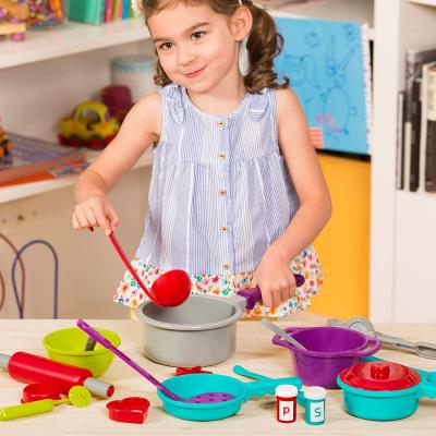 Battat – Cooking Set – Pretend Play Toy Dishes Set