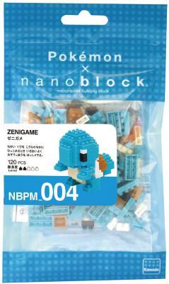 nanoblock Pokemon Squirtle Building Kit